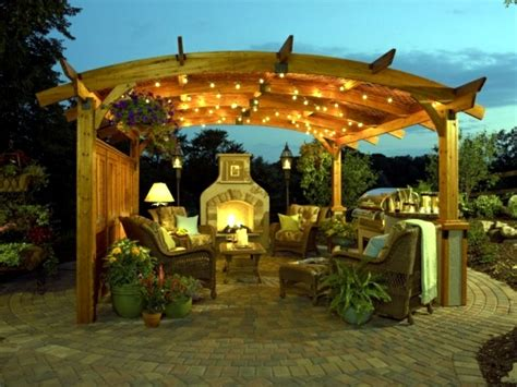awning lighting ideas 25 ideas for sun protection in the garden pergola awning