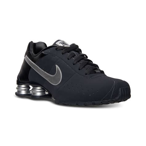 Nike Shok 2 nike mens shox classic ii si running sneakers from finish line in gray for anthracite mtllc
