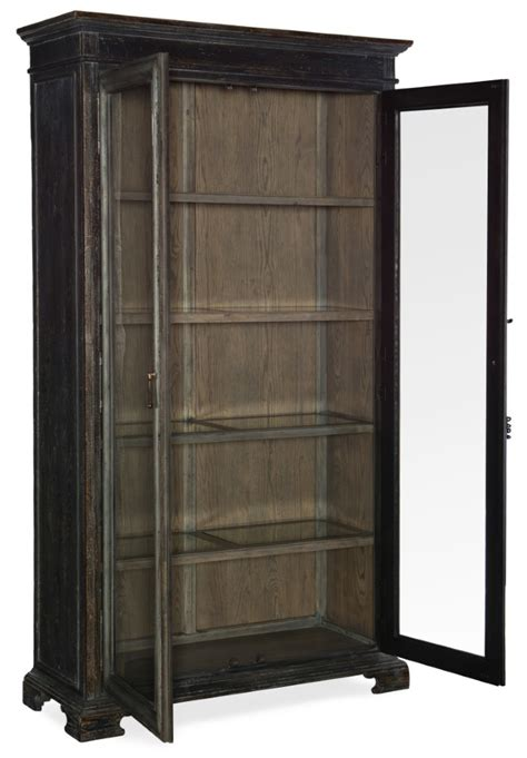 hooker furniture beaumont display cabinet