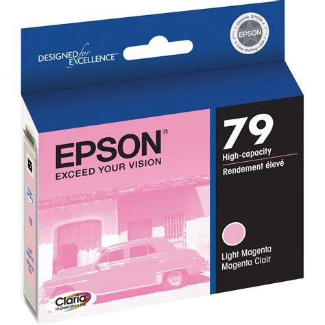 Epson 85n Ink Cartridge Light Magenta epson 79 light magenta ink cartridge t079620 b h photo