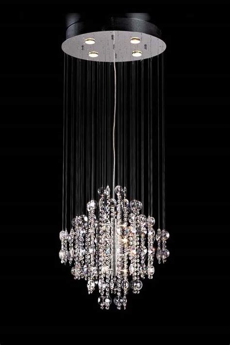 Stairwell Chandelier Lighting Custom Bespoke Custom Contemporary Drop