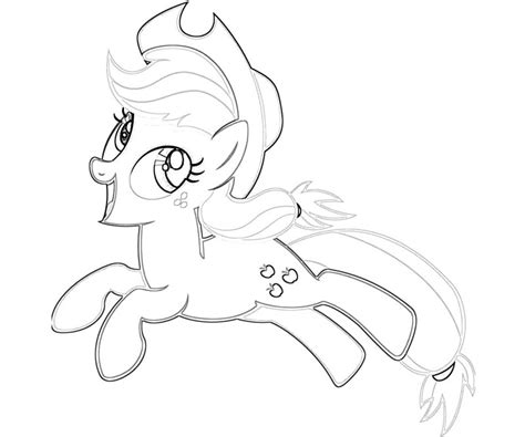 free coloring pages applejack 10 my little pony applejack coloring page