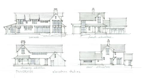 farmhouse elevations modern farmhouse elevation studies wassell design