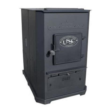 us stove 3 000 sq ft multi fuel furnace pellet stove