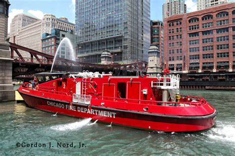 fire boat nozzle chicago fire boat the christopher wheatley