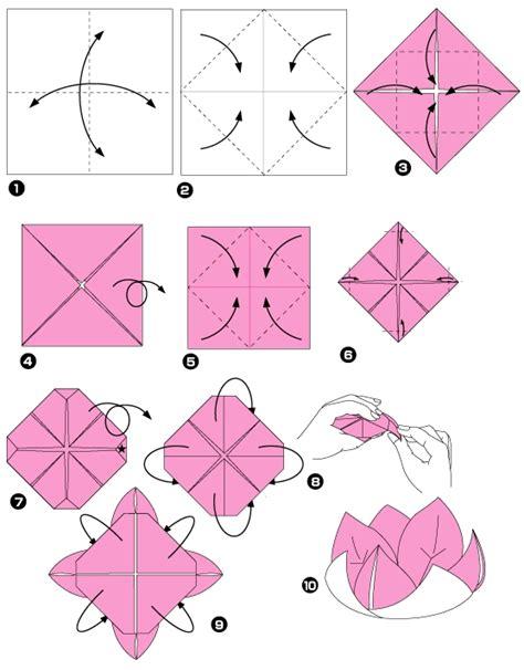 Fleur Origami - origami fleur
