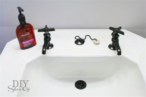 buy a new bathroom how to paint your bathroom faucets no need to buy a new one better housekeeper