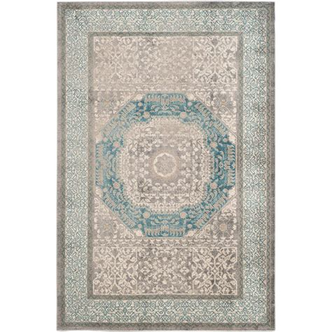 rug 4 x 5 safavieh sofia light gray blue 4 ft x 5 ft 7 in area rug sof365a 4 the home depot