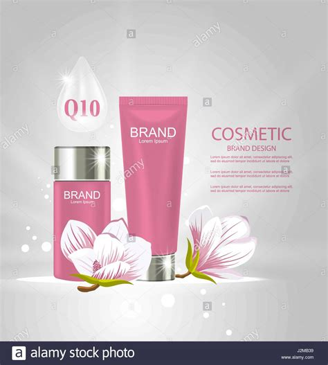 design poster cosmetic product packaging design stock photos product packaging