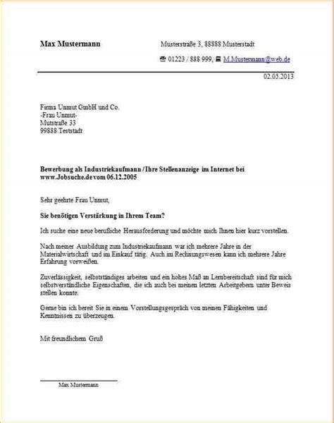 Bewerbungsschreiben Ausbildung Industriekauffrau Vorlage 6 Bewerbung Anschreiben Ausbildung Industriekaufmann Deckblatt Bewerbung