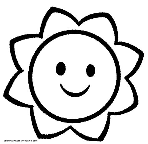 Kindergarten Coloring Pages Easy Coloring Home Free Simple Coloring Pages
