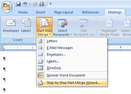 Cara Membuat Mail Merge Angka | rahmat hidayat cara mail merge