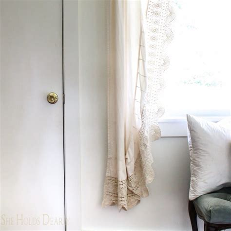 10 Ways to Repurpose Vintage Linens   She Holds Dearly