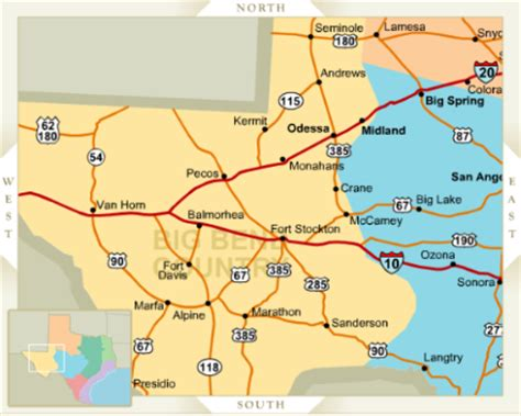 map odessa texas odessa tx area information