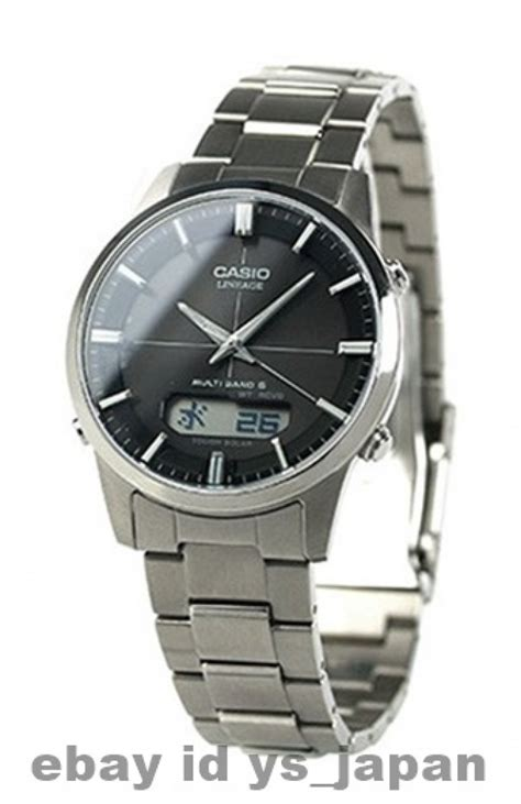 casio lineage casio lineage lcw m170td 1ajf toughsolar multiband6 new