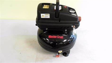 mastercraft 3 gallon pancake air compressor electronics sports equipment snowboards