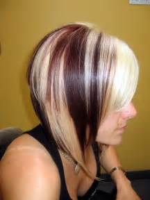how to add colour chunks to hairstyles 500 best images about chunky streaks lowlights 2 on