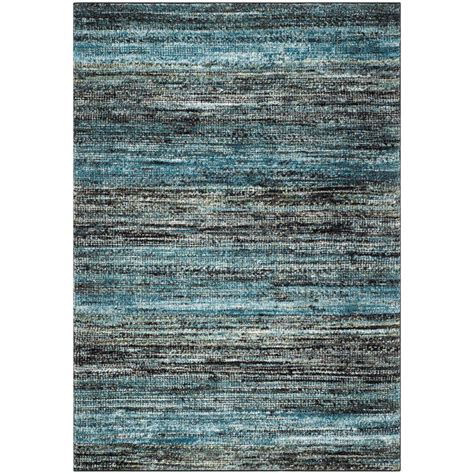 safavieh porcello rug safavieh porcello charcoal blue 6 ft 7 in x 9 ft area rug prl6943g 6 the home depot