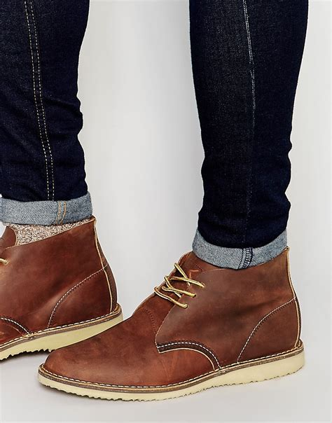 Wing Chukka wing wing weekender chukka boot at asos