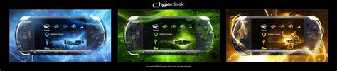 psp themes hyperdesk dm psp theme preview by skinsfactory on deviantart