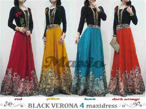 Dress Batik Verona keranjangpakaian pusat busana supplier maxi