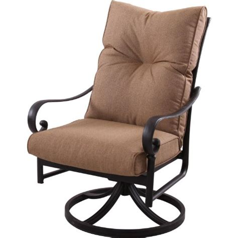 swivel rocker patio chair darlee santa patio swivel rocker dining chair