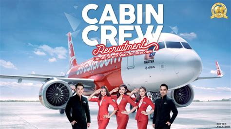 airasia rekrutmen airasia cabin crew walk in interview november 2017