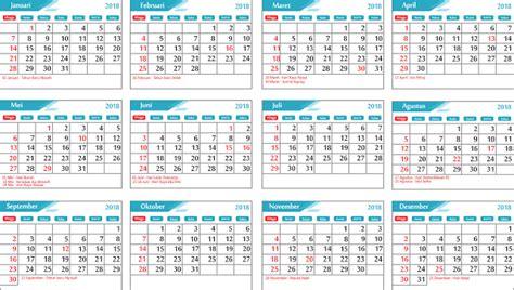 Kalender 2018 Hijriyah Lengkap Kalender 2018 Masehi 1439 Hijriyah Indonesia Lengkap