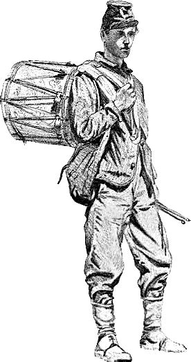 coloring pages drummer boy union drummer boy american history civil war military