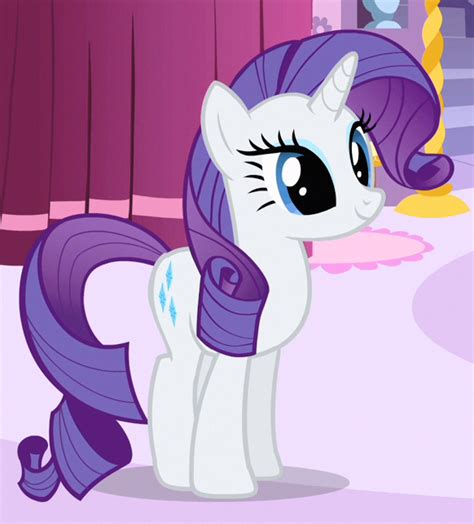 Rarity My Little Pony Friendship Is Magic Wiki Fandom | rarity standing s1e19 cropped