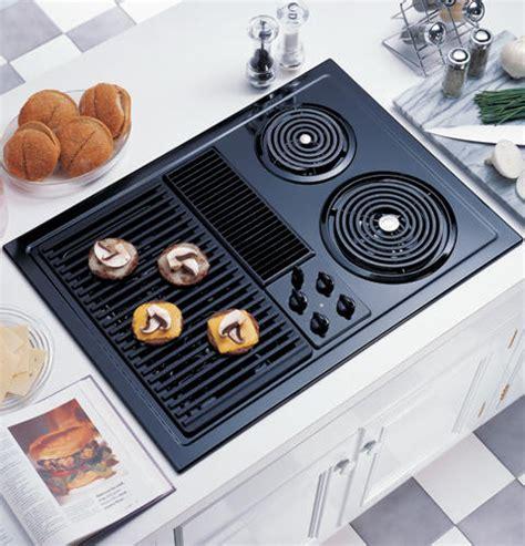 ge gas cooktop with downdraft ge 174 30 quot select top modular downdraft cooktop jp385bdbb