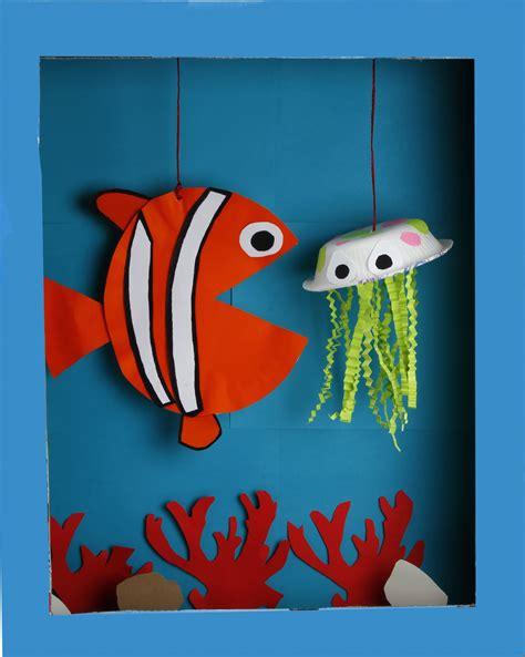 kid and craft world oceans day diy diroma jam