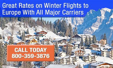 cheap winter flights to europe winter deals 1 800 fly europe