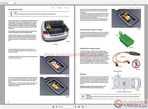 Audi Online Training by Auto Repair Manuals Audi Self Study Programme 600