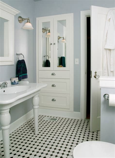 Closet Riddle by Ballard Small Bath Traditional Bathroom Seattle By