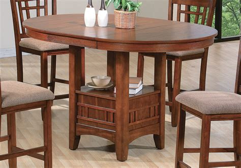 Overstock Dining Tables by Empire Oak Counter Height Dining Table