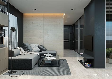 apartments monochromatic studio apartment inspiration