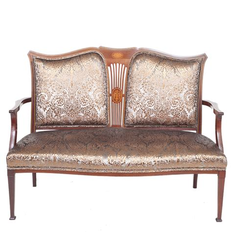 Edwardian Sofa by Edwardian Occasional Sofa By The Unique Seat Company