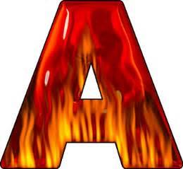 presentation alphabets letter a