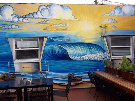 beach wall murals suit  decor