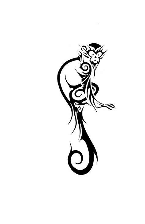 monkey tribal tattoo pin by teresa on monkeys ideen affen