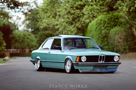 bmw slammed simple beginnings ben anson s 1982 e21 stanceworks com