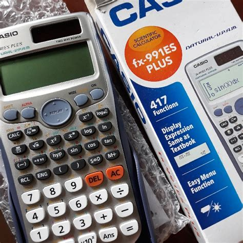 Casio Fx 991es Plus Scientific Kalkulator 2b9k casio fx 991es plus scientific calculator electronics others on carousell