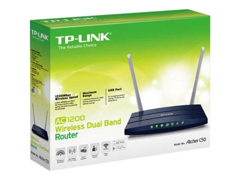 Tp Link Ac1200 Wireless tp link archer c50 ac1200 wireless dual band router ebuyer