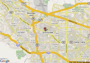 where is sunnyvale california on a map map of grand hotel sunnyvale