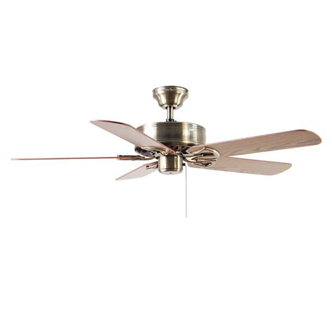 classic ceiling fans shop harbor breeze 52 in classic antique brass ceiling fan
