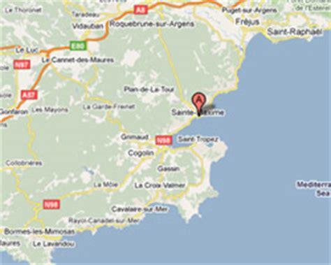 location vacances vue mer Ste Maxime.
