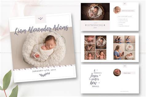 baby photo album layout baby album template psd magazine templates creative market