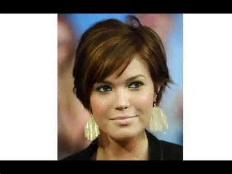 thin hair fat neck awesome short hairstyles for fat faces and double chins