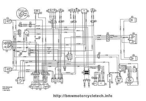 bmw r65 motorcycle wiring diagrams free wiring